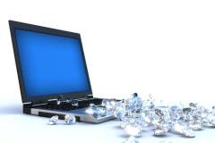 Internet Money - Diamonds Stock Footage