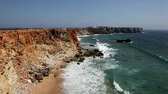 Algarve Coast, Portugal Stock Footage