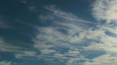Cloud Plume Time Lapse Stock Footage