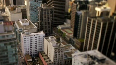 City skyline Shift+Tilt 50fps 6 - 7D Stock Footage