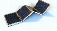 Solar Gadgets - stock footage