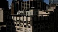 Skyline elevator lift 6 50 fps - 550D Stock Footage