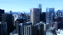 Skyline elevator lift 1 - 550D Stock Footage