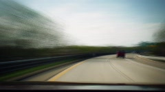 DETROIT Highway Tlapse - stock footage