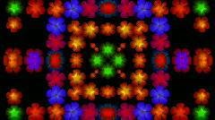 Flash flower wreath,wedding background.bouquet,bunch,collage,floral,love,pattern Stock Footage