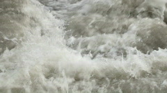 foam and water quickly - stock footage