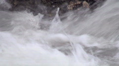 Foam and water quickly Stock Footage
