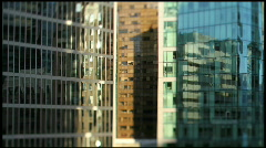 Timelapse  Skyline Shadows 7D Tilt&Shift 3 Stock Footage