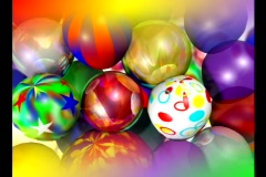 3701 Color Balloons Background Stock Footage