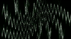 Magnetic field lines digital dynamic effects flow light rays elements. Stock Footage