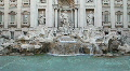 Trevi fountain, Rome HD Footage