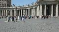 Saint Peter Square, Rome Footage