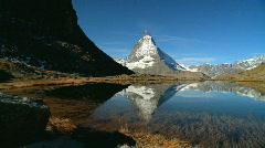 Matterhorn, Switzerland Stock Footage
