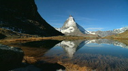 Stock Video Footage of Matterhorn, Switzerland