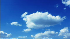 looped Clouds 01 - stock footage