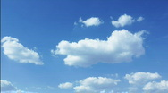 Sky with clouds - Loopable time lapse footage Stock Footage