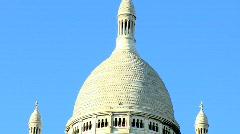 Basilique du Sacre-Coeur, Paris  Stock Footage