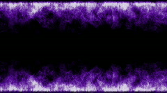 Purple fire animation. Stock Footage