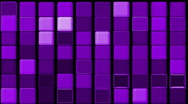 Stock Video Footage of purple glass rectangle matrix background.wall,block,palette,Brick,