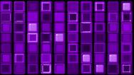 Purple glass rectangle matrix background.wall,block,palette,Brick, Stock Footage