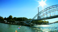 View of Eiffel Tower - stock footage
