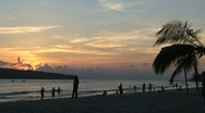 Stock Video Footage of Malaysia sunset