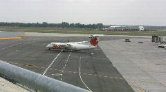 Plane Leaving Stock Footage