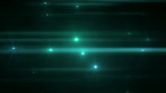 Spinning lens flare lights Stock Footage