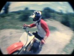 Motocross Motorcycle Tricks - stock footage