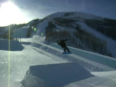 Snowboard 9 Stock Footage
