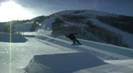Stock Video Footage of Snowboard 9