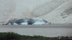 T203 glacier ice global warming tundra ice iceberg Stock Footage