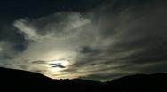 Beautiful Colorado Sunrise Stock Footage