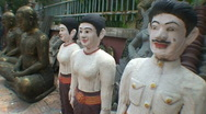 Stock Video Footage of CAMBODIA-STATUES 2