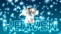 Flying Angel - Angel 04 (HD) Stock Footage