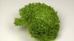 Lettuce zoom in - stock footage