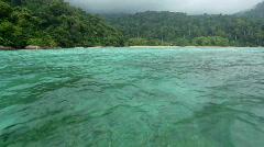 Stock Video Footage of Tioman tropical sea
