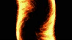 Red fire,like as tornado shape.Tornadoes & hurricanes. Stock Footage