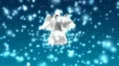Flying Angel - Angel 03 (HD) Stock Footage