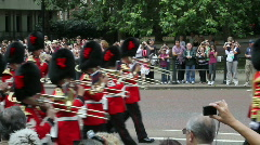 Buckingham Palace Changing of Guard Stock Footage