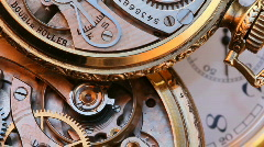 Pocket Watch close up - stock footage