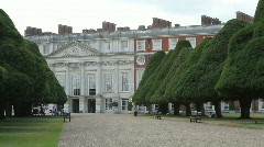 Hampton Court Gardens Stock Footage