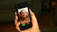 Video Chatting on Smartphone 1821 Stock Footage