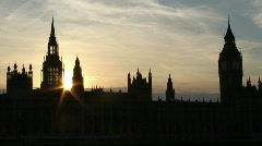Stock Video Footage of Parliament Timelapse