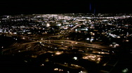 Stock Video Footage of Helicopter Freeway Loops, Aerial Phoenix