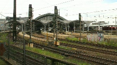 Cologne train station Stock Footage