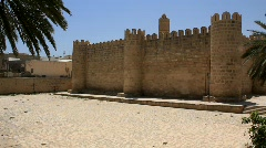 Medina. Old stronghold in Sousse, Tunisia Stock Footage