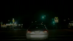Night Driving Stock Footage