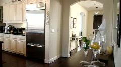 Luxury Home Interior Stock Footage