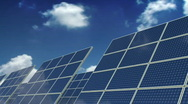 Stock Video Footage of Solar Panels - Green Energy